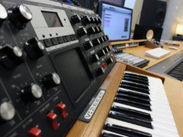 Keyboards im Studio A